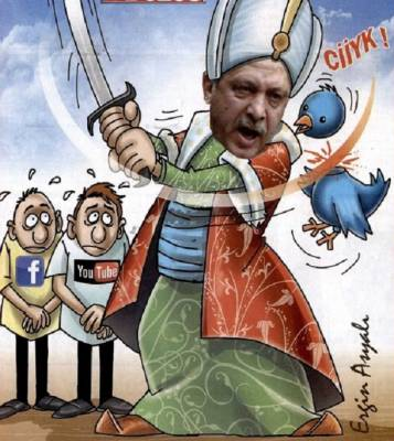 Erdogan against Twitter